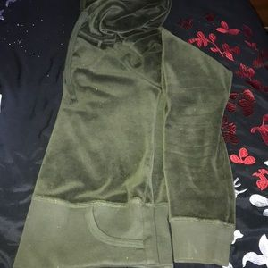 Juicy Couture Jackets & Coats - Juicy Couture Velour Hoodie